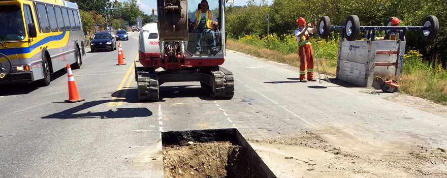 Township of Langley – 56th Avenue Watermain Replacement